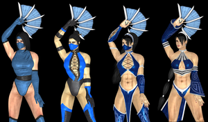 The Best of Kitana by artemismoonguardian