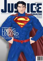Justice Mag - Superman by GravedFish