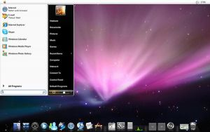 Preview Of Vista OS X Theme by NeshTheDeviant