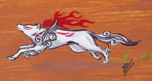 Amaterasu by Mewstor