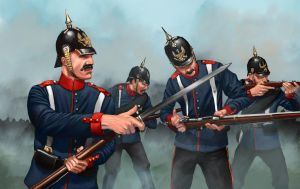 The Prussians by RobbieMcSweeney