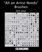 All An Artist Needs Brushes by fritchie