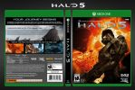 Halo 5   Fan-Made Complete Box Art by DANYVADERDAY