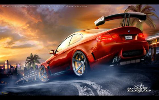BMW M3 e92 by brianspilner