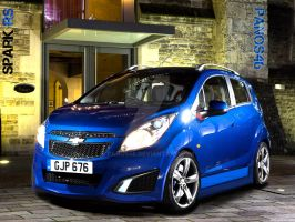 chevrolet spark rs concept by panos46