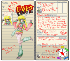 :ON: Nina's Byako Page by ReD-HearT-DroP