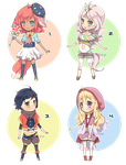 adoptables 01 [OPEN] by mioree