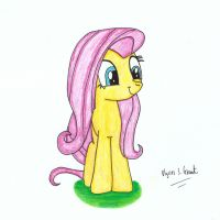 Adorable Fluttershy by UlyssesGrant