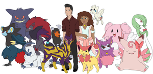 Jasper and Fae's Pokemon Team