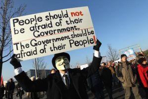 People Should Not Be Afraid Of Their Government, by xxWeAreAnonymousxx