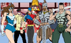 BAYAN KNIGHTS FIRST RECRUITS by nerp