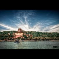 Yihe Yuan from a paddle boat by Blazko