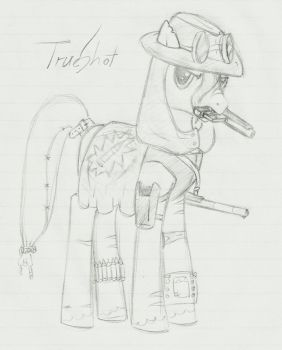 TrueShot - Sketch by 4evrninja