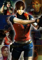 Claire Redfield Moment by Elenakillingzombies