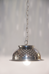 Stainless Steel Colander Hanging Lamp by ClassicRedo
