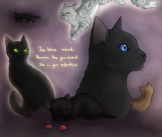 Crowfeather's Punishment by AnnMY