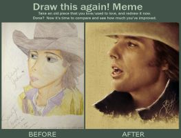 Before and After Meme: 5 Years by dwightyoakamfan