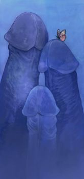 Composition in Blue by ursulav