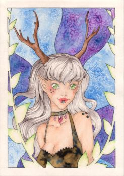 Forest Queen by JeHaw