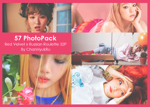 57 / Red Velvet x Russian Roulette PhotoPack by ChanHyukRu