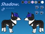 Shadow: Official Quad Reference by Shady-Paws