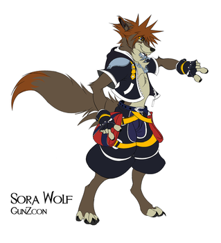 Sora Wolf by GunZcon