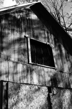 Old barn by TheBlackCrowWitch