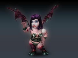 Succubus Gnome by Pinkhair3d