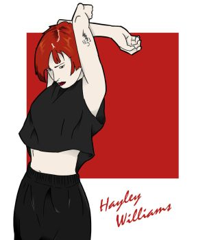Hayley Williams by lifeisabench