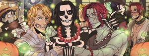 One Piece halloween action! by PenguArts