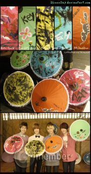 SHINee Umbrella by EverKiss
