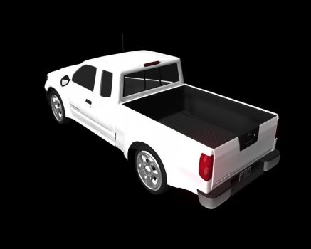2007 Nissan Frontier_Rear by DarkAce777