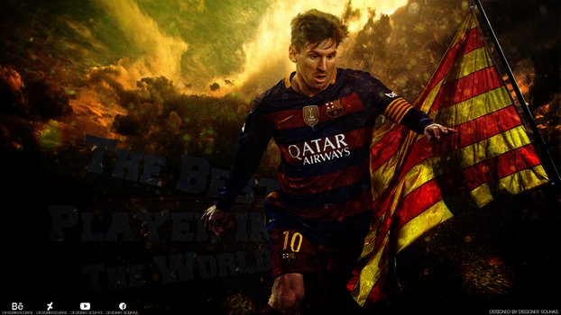 Wallpaper - Lionel Messi by DesignerSouhail