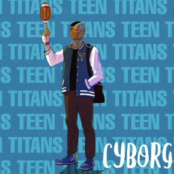 Cyborg - Young Titans by Markistic