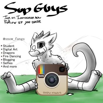 Join Me On Instagram by Snow-Fangs