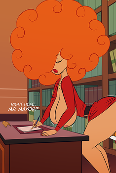 Ms. Bellum (Preview) by kenny-comix