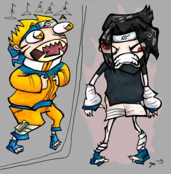 stupid ninja boys by zoemoss