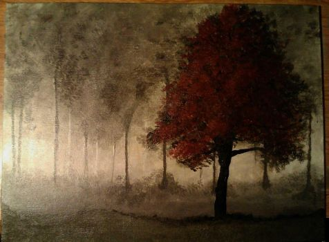 Gargon Inspired Painting by Get-Wicked-Designs