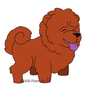 Cute Dogs - Chow Chow by Sloth-Power