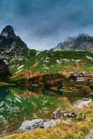 Valley of the Green lake II by mutrus