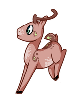 My Little Pony..er, Deer Design by theperfecta