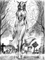 Lady of the grave by spaceweasel2306