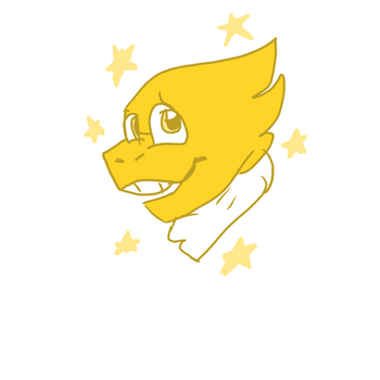 alphys  by metal-and-magic