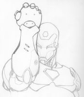 Iron Man by Michael Turner by DenbroughMcClane