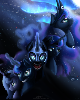The Phases of Luna by NiegelvonWolf