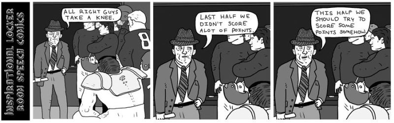 Inspirational Locker Room Speech Comics by bobbymono