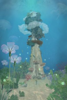 Vicky's Dream Tower by Red-Cha
