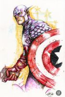 Captain America Commission by deadlymike