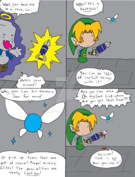 Zelda OoT Comic 74 by Dilly-Oh