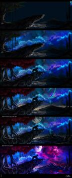 A Father's Pride - Stages. by AaronMetallion